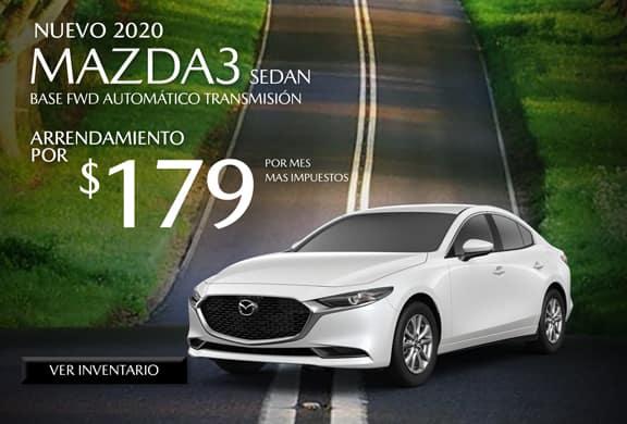 2020 Mazda3 Base FWD AUTOMÁTICO