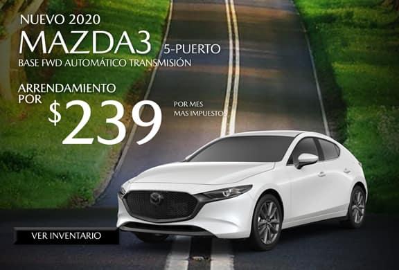 2020 Mazda3 5-Door Base FWD AUTOMÁTICO