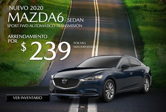 2020 Mazda6 Sport AUTOMÁTICO