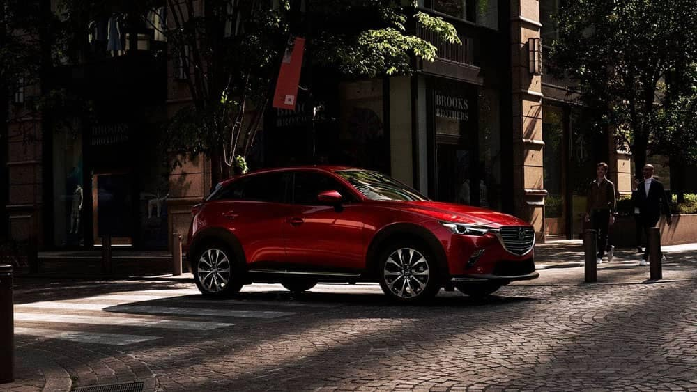 2019 Mazda CX-3 in the city