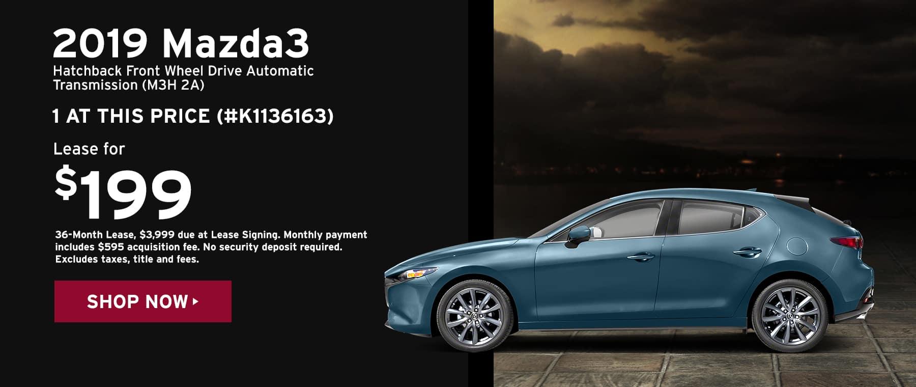 2019 Mazda3 Hatchback