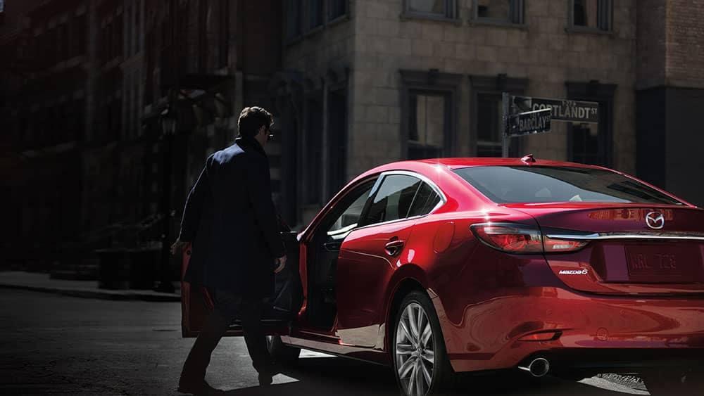 2019 Mazda6 Rear