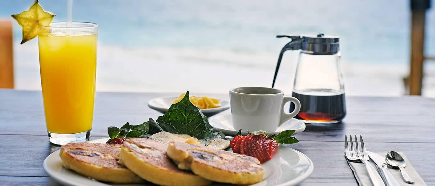 Breakfast Beachfront