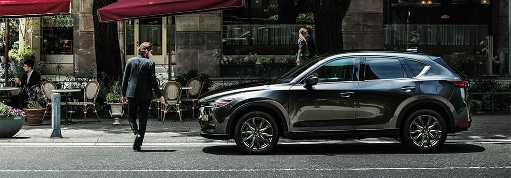 Mazda CX-5 Parked on Side of Street