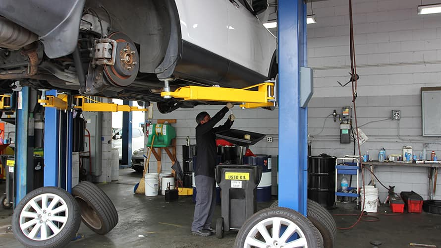 South Bay Mazda Vehicle Lifts