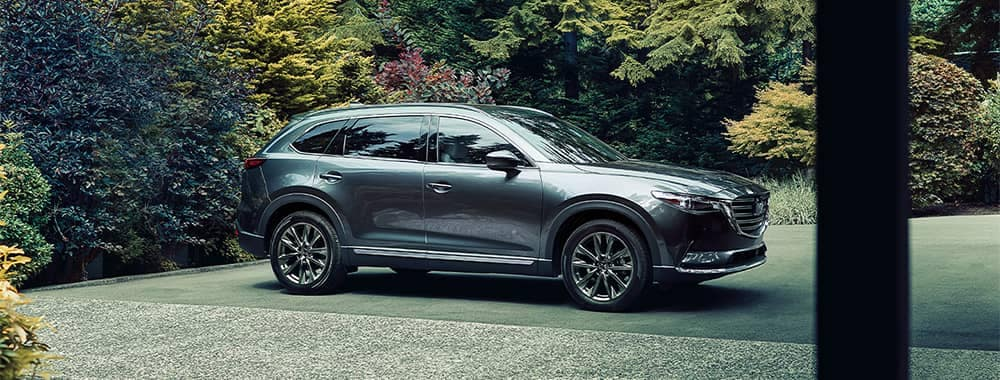 Mazda CX-9 Parked at Home