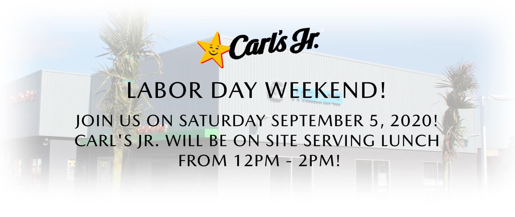 South Bay Mazda Labor Day Weekend
