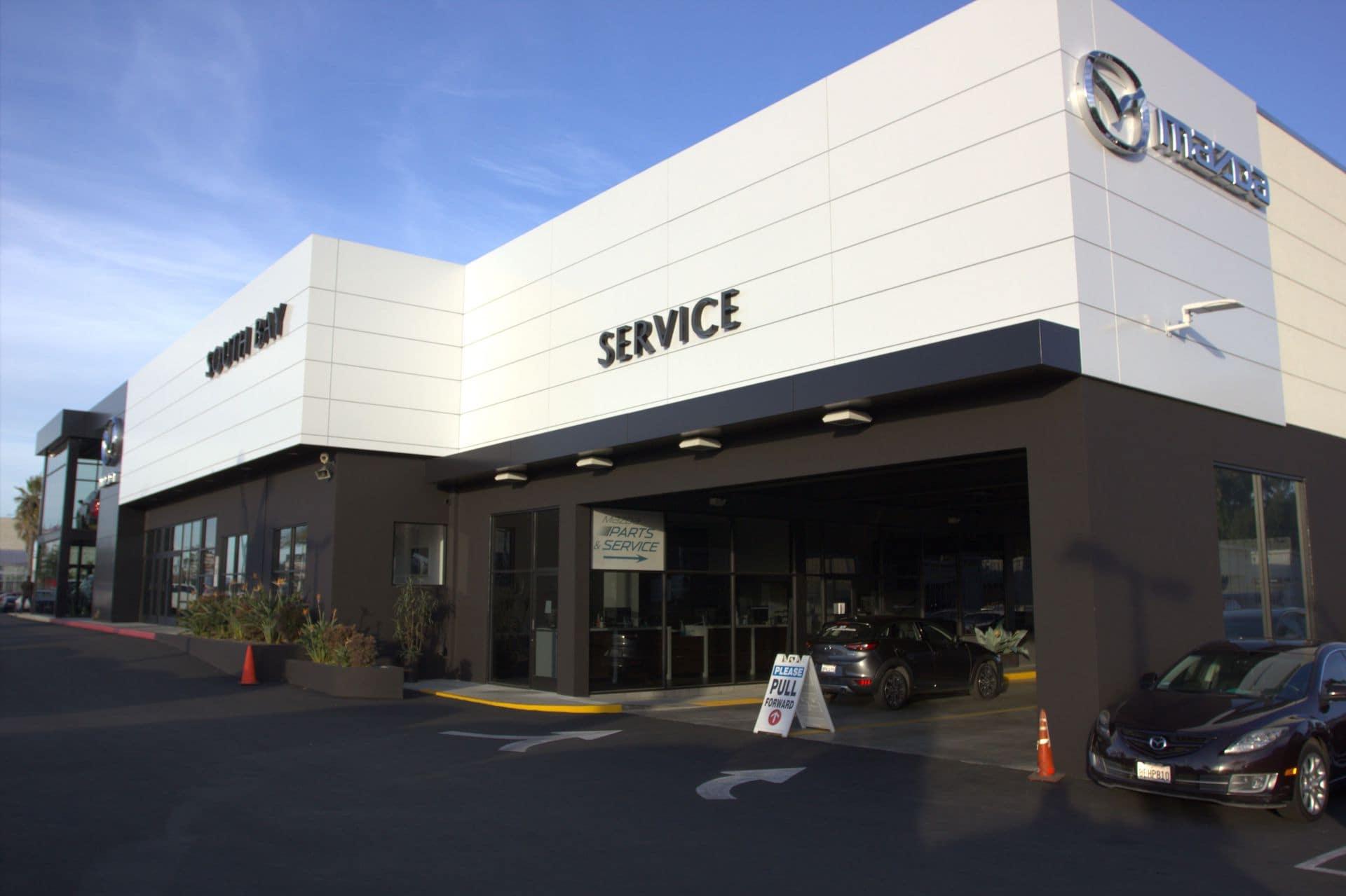 South Bay Mazda Service Entrance