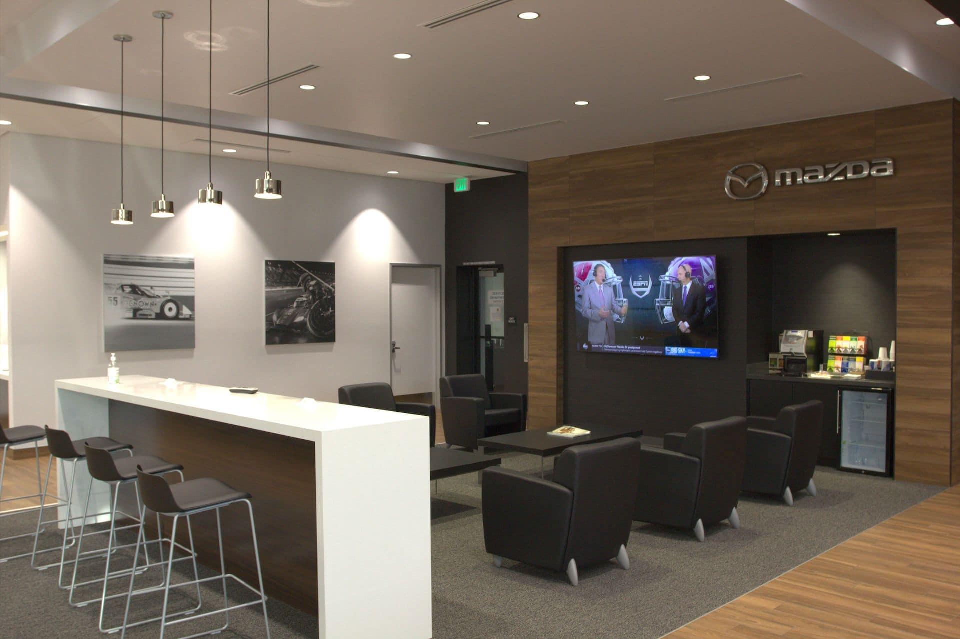 Coffee Bar & Service Customer Lounge