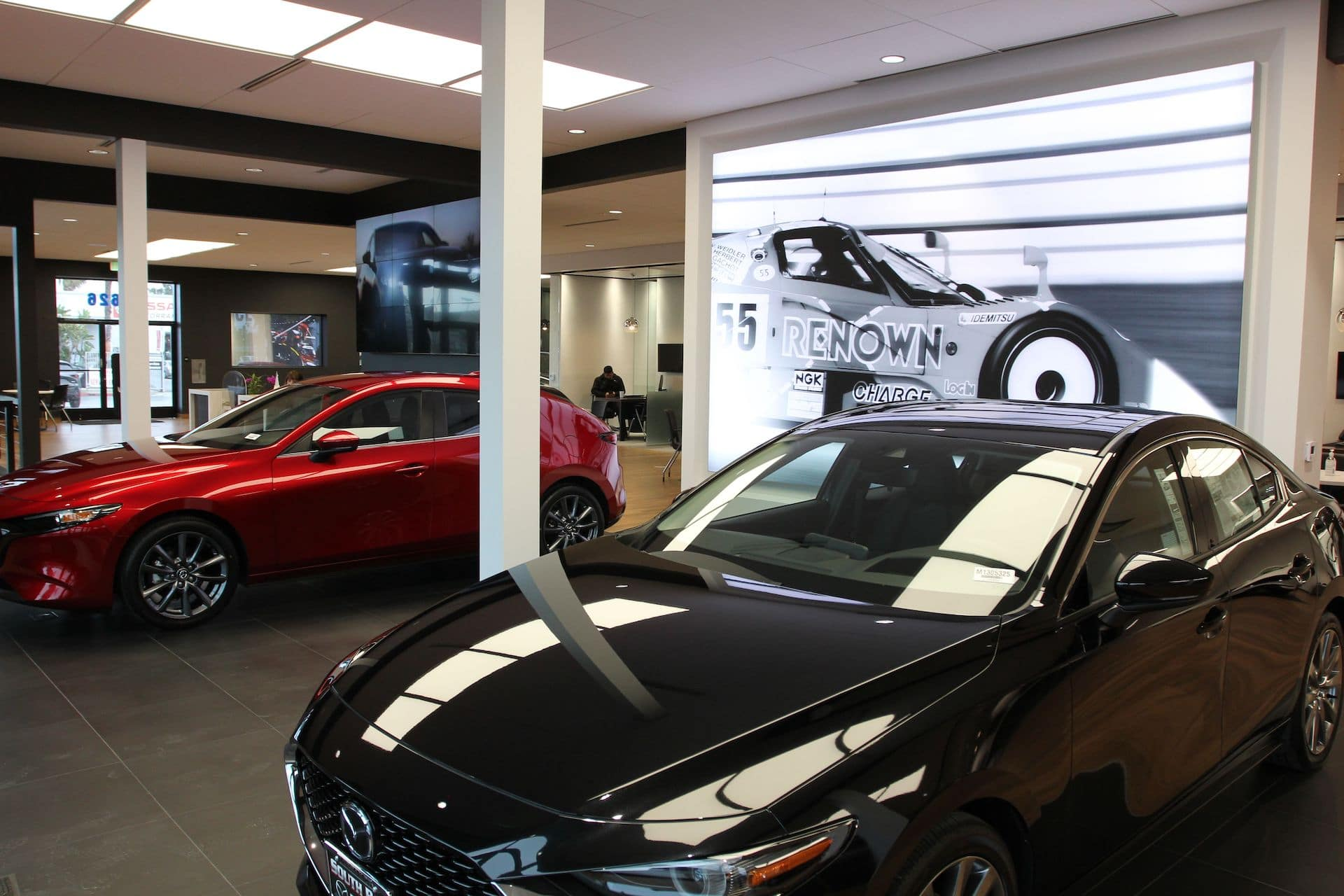 South Bay Mazda Showroom