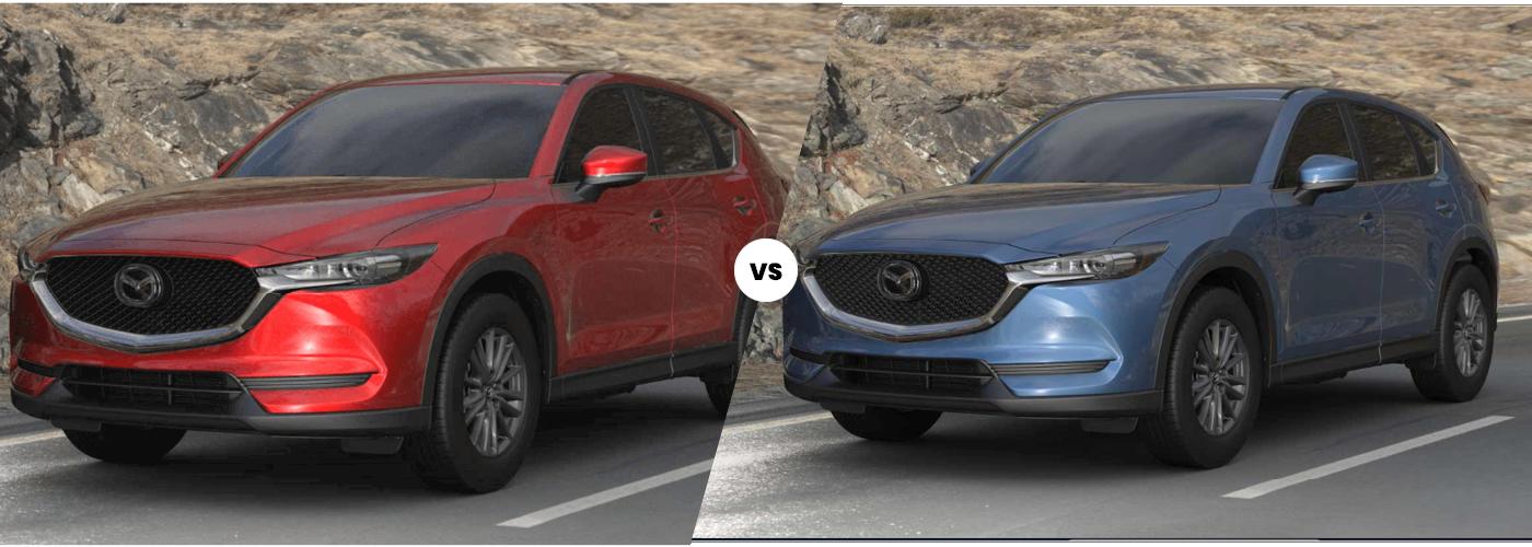 2021 Mazda CX-5 Sport vs 2021 Mazda CX-5 Touring