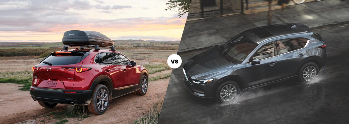 2021 Mazda CX-30 vs 2021 Mazda CX-5