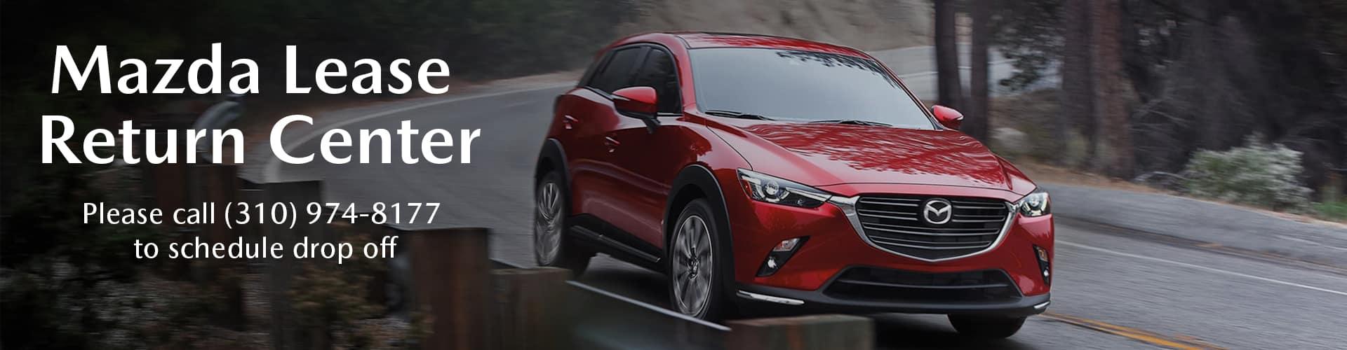 Mazda Lease Return Center