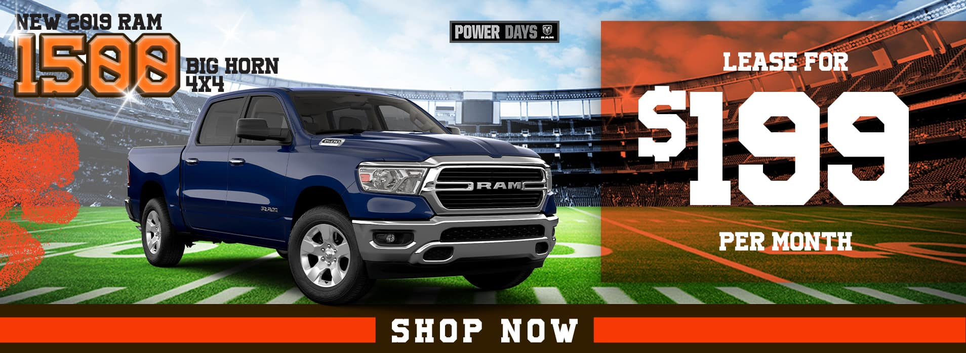 RAM 1500 | Lease for $199 per month
