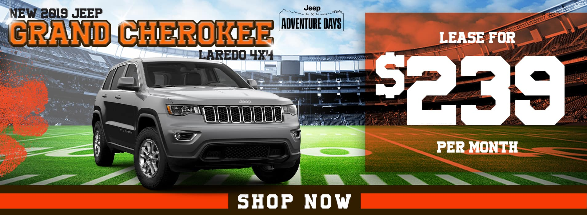 Grand Cherokee | Lease for $239 per month