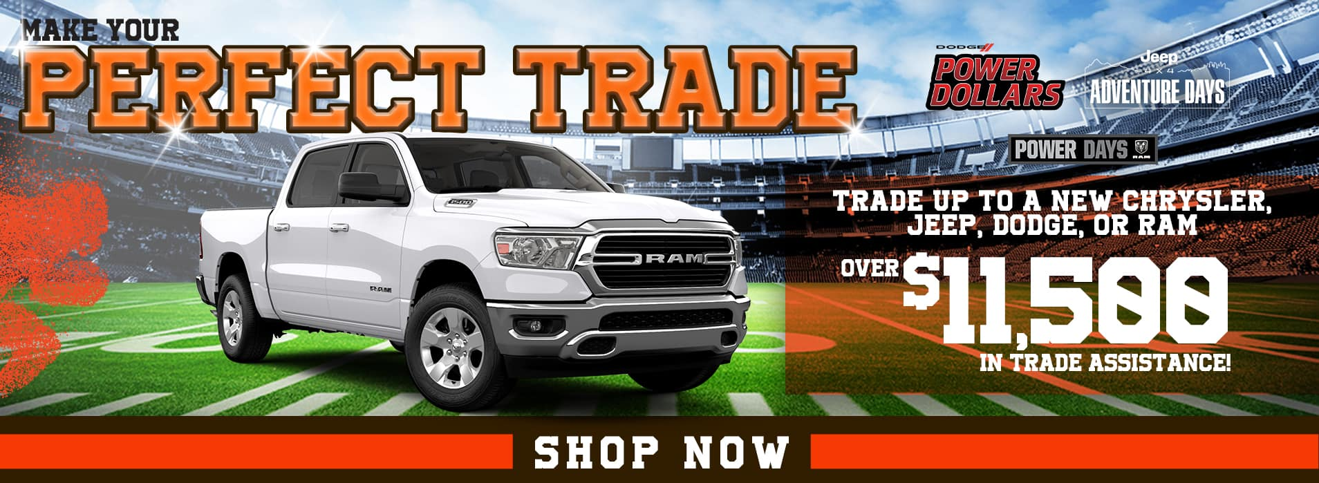 Make the Perfect Trade | Up to $11,500 in trade assistance