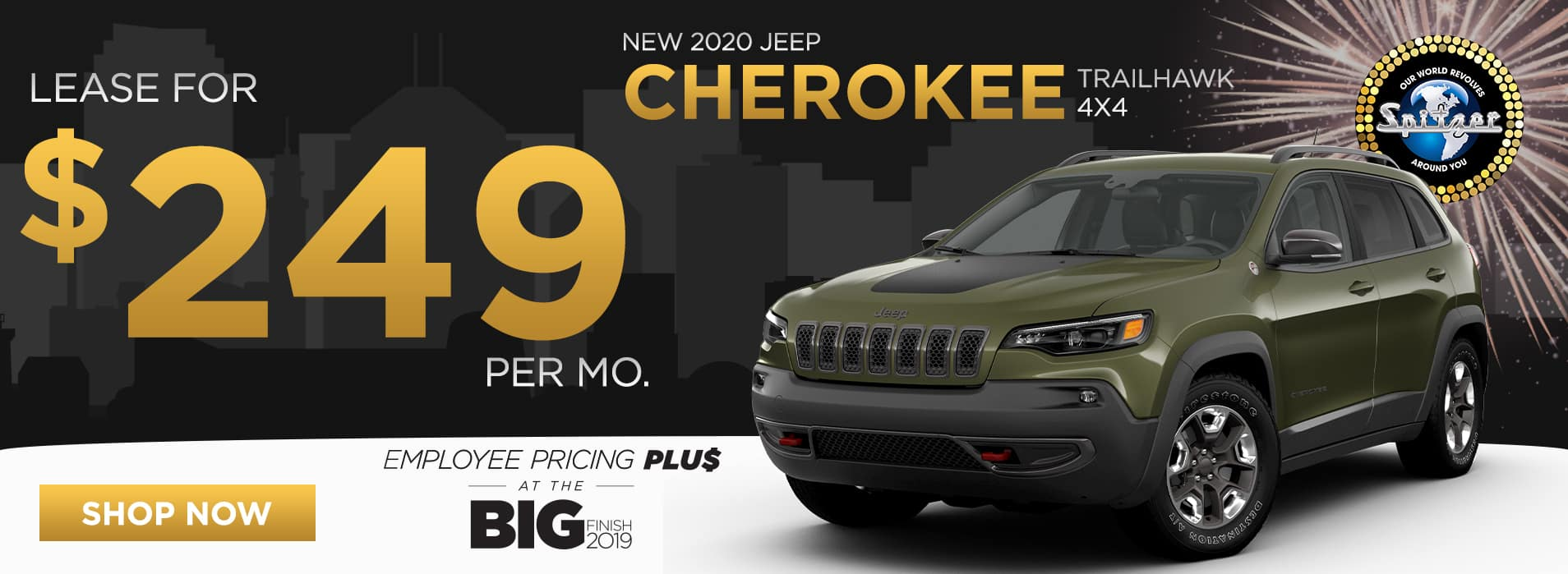 Cherokee   Lease for $249 per mo