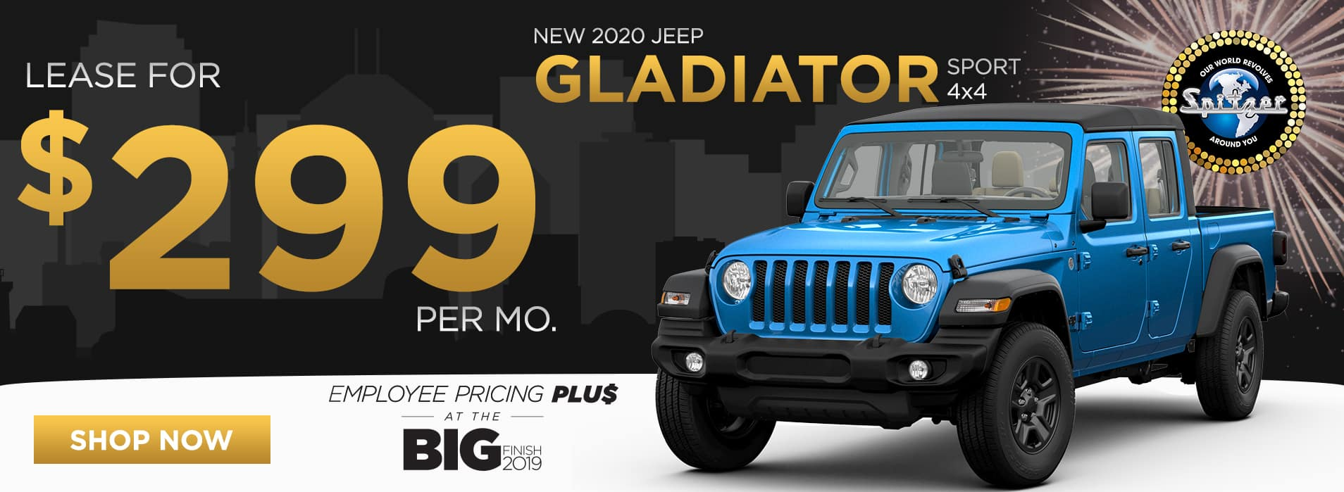 Gladiator   Lease for $299 per mo