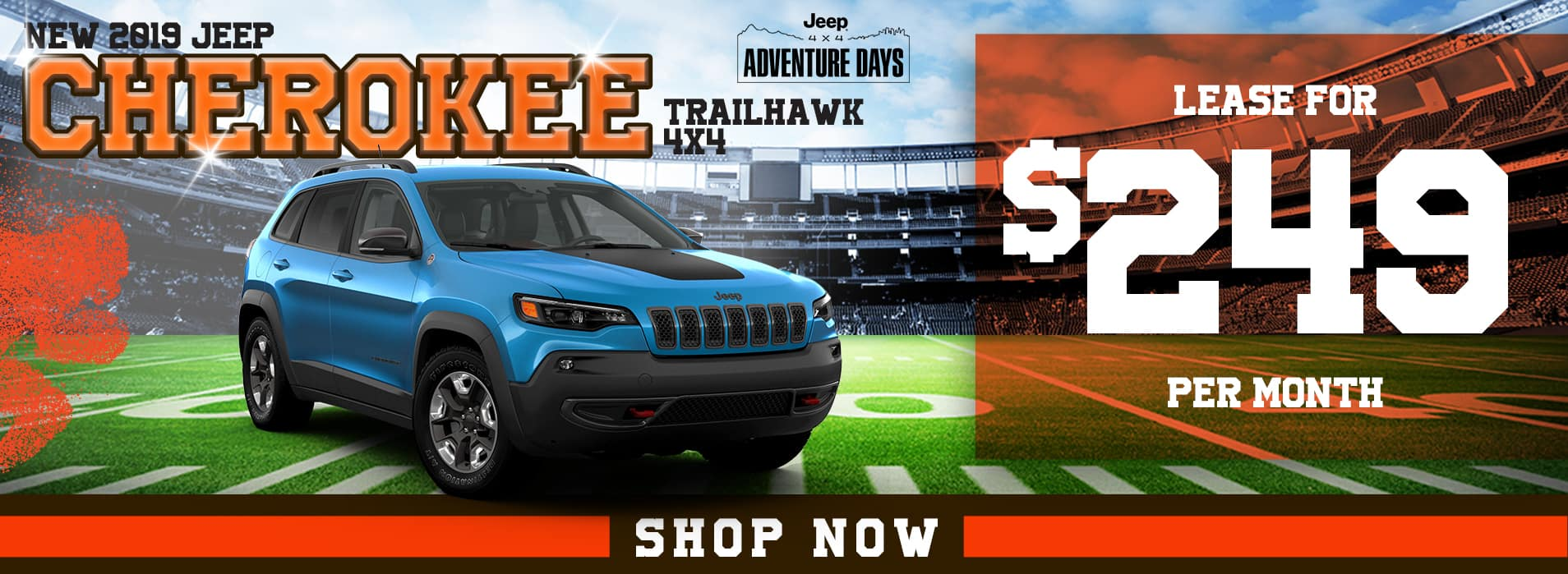 Cherokee   Lease for $249 per month