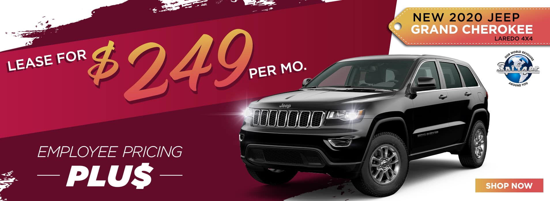 Grand Cherokee | Lease for $249 per month
