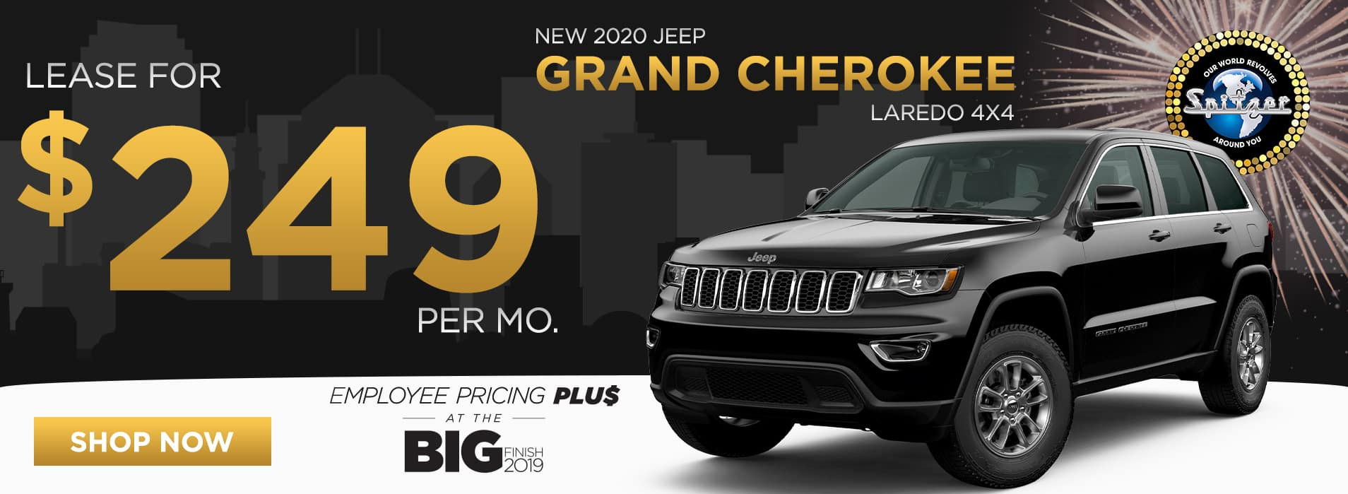 Grand Cherokee | Lease for $249 per mo