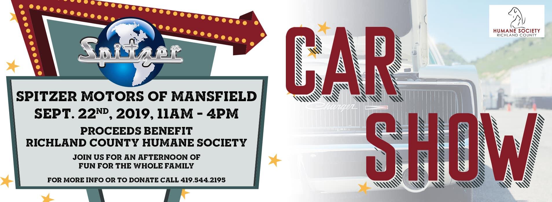 Mansfield Car Show   Sept 22, 2019