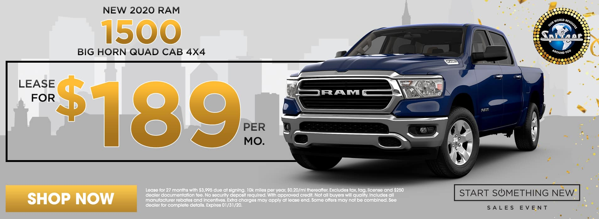 RAM 1500 | Lease for $189 per mo