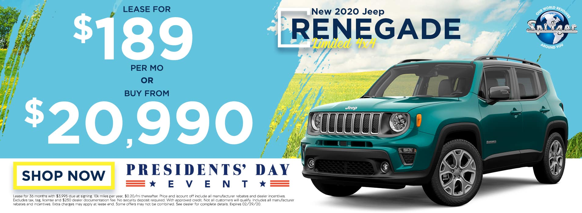 Renegade | Lease for $189