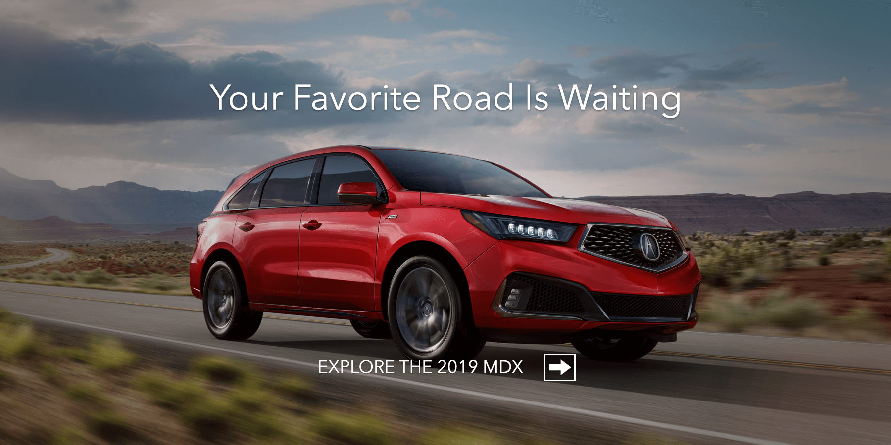 2019 Acura MDX Performance Red Pearl Front Angle HP Slide