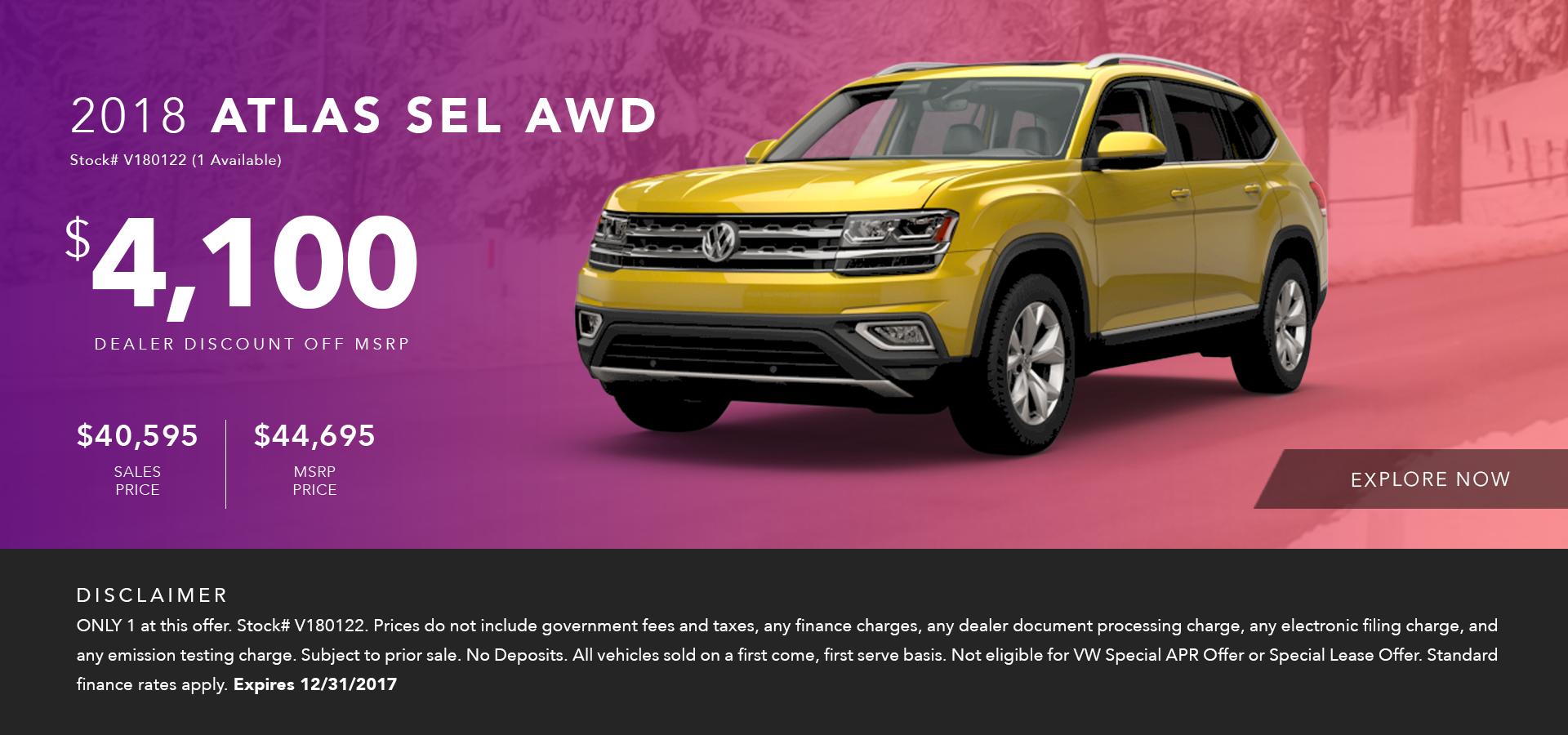 Current New Volkswagen Specials Offers Stevens Creek