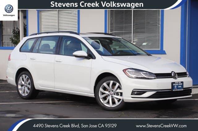 New 2019 Volkswagen Golf SportWagen SE FWD VIN 3VWY57AU2KM504206 MSRP $31,635