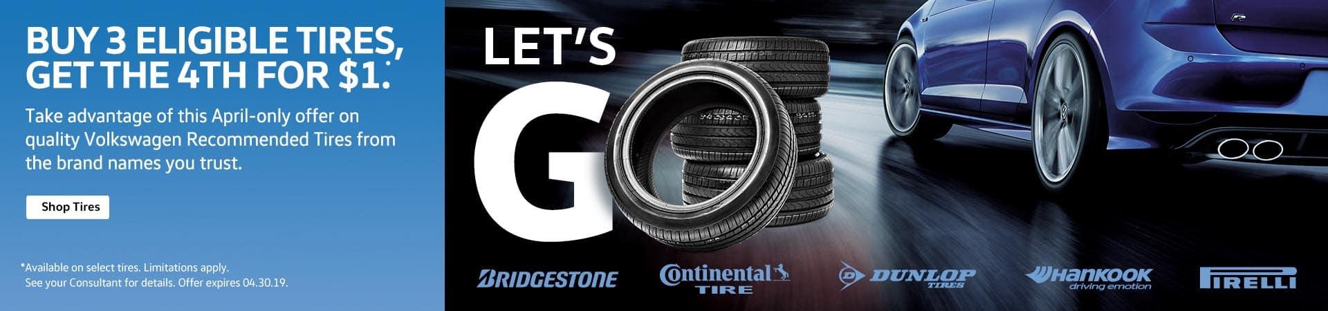 Volkswagen tire special