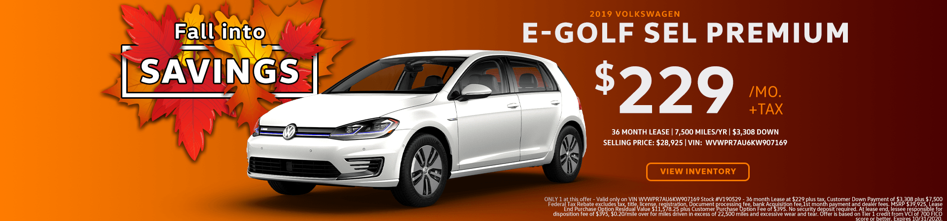 EGOLF – SC Oct 2020