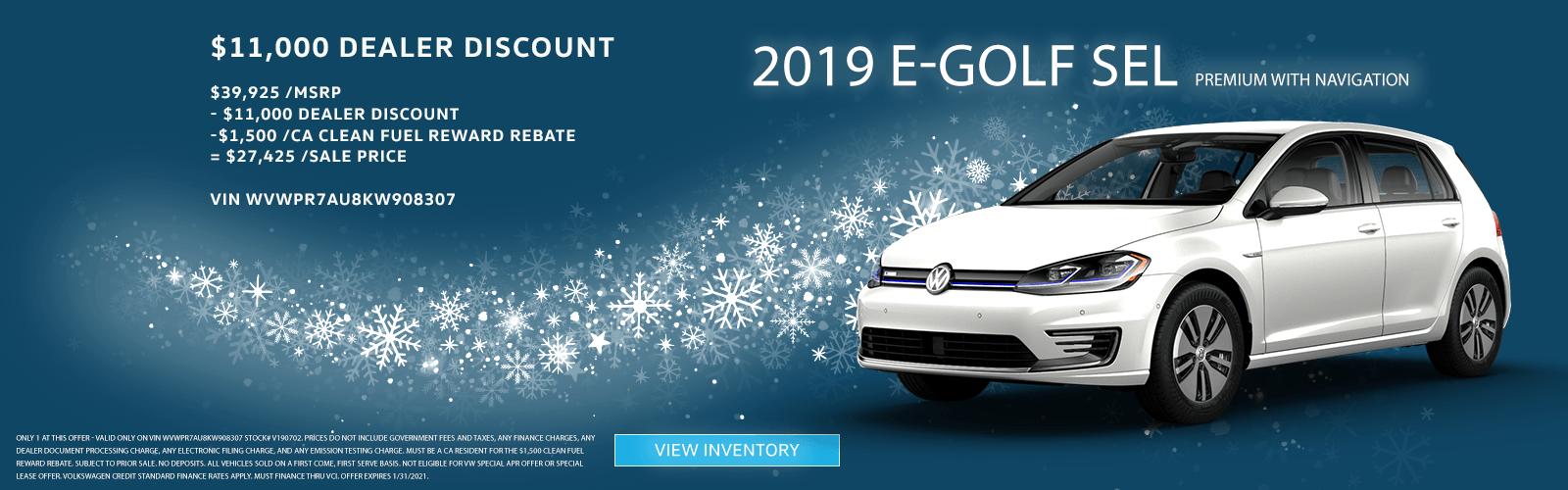 E-Golf – SC Jan