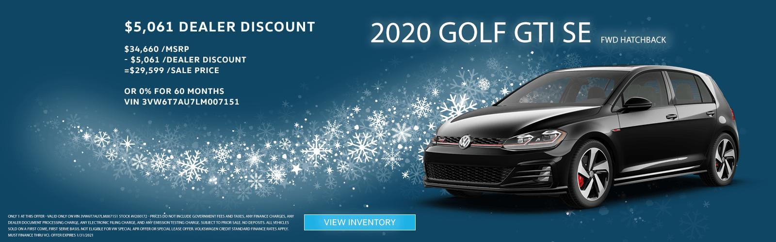 Golf GTI – SC Jan