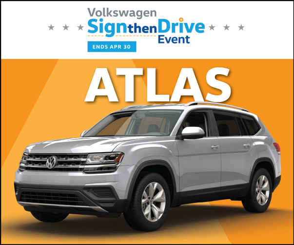 2019 Atlas 3.6 SE/Tech AWD