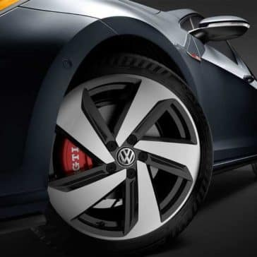 2018 Volkswagen Golf GTI 18 Dallas alloy wheels