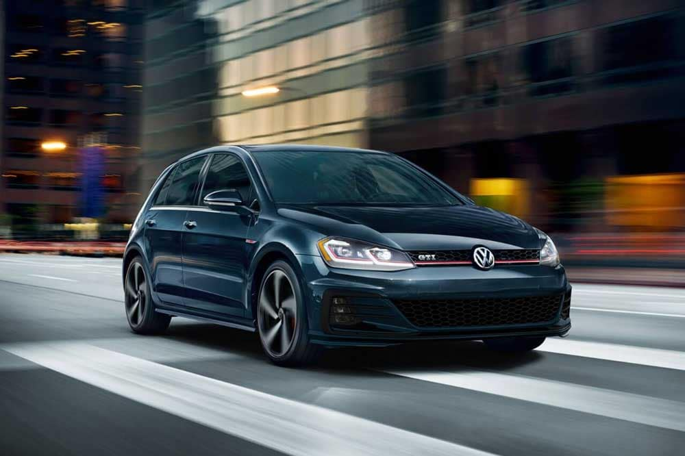 2018 Volkswagen Golf GTI deep black Pearl
