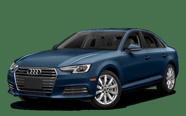 2018 Audi A4 Blue Angled