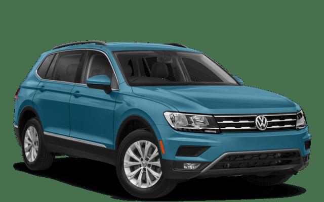 2018 Volkswagen Tiguan Aqua Blue