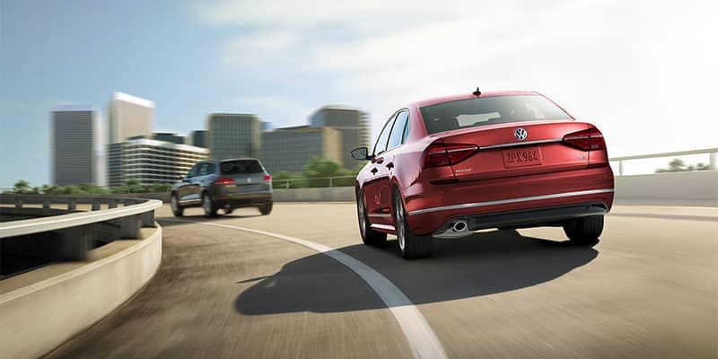2019 Volkswagen Passat Driving on Highway