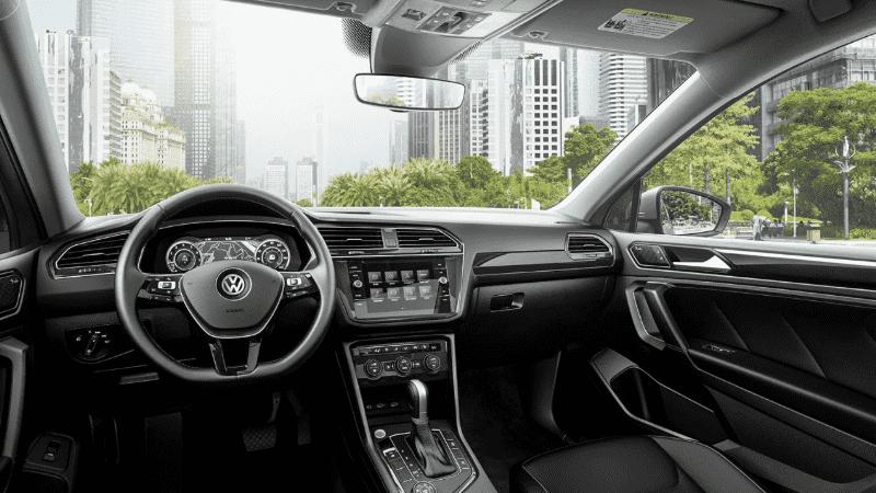 Volkswagen Tiguan interior and dashboard