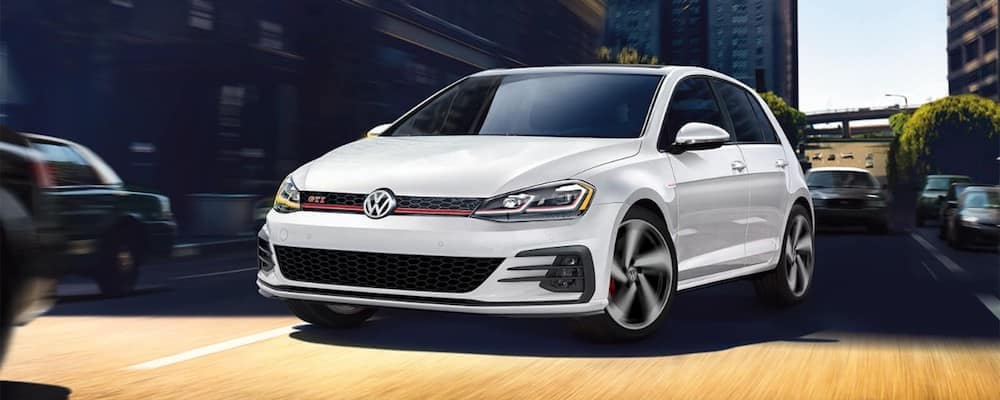 White 2019 Volkswagen Golf GTI
