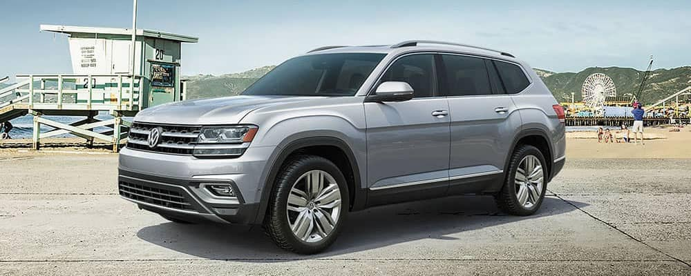 2019 Volkswagen Atlas family outing to the boardwalk