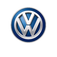 compliant vw logo text white