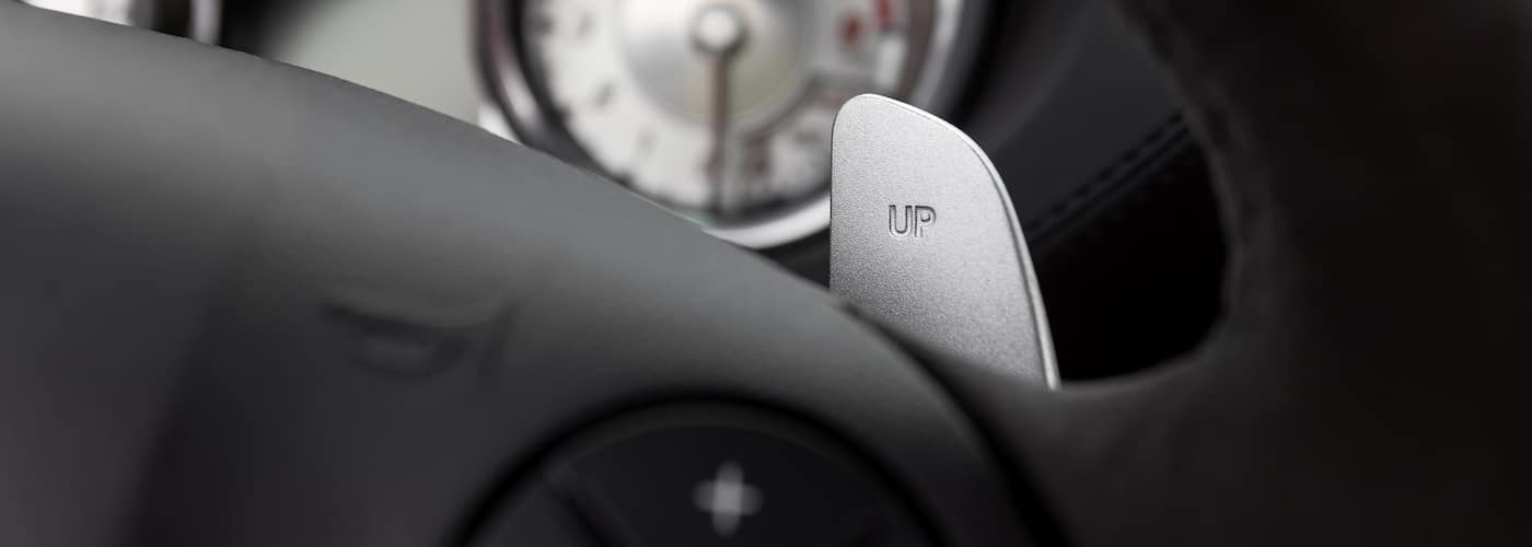 Close Up of Paddle Shifter