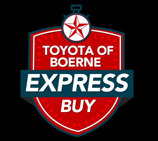 Toyota of Boerne Express Buy Logo
