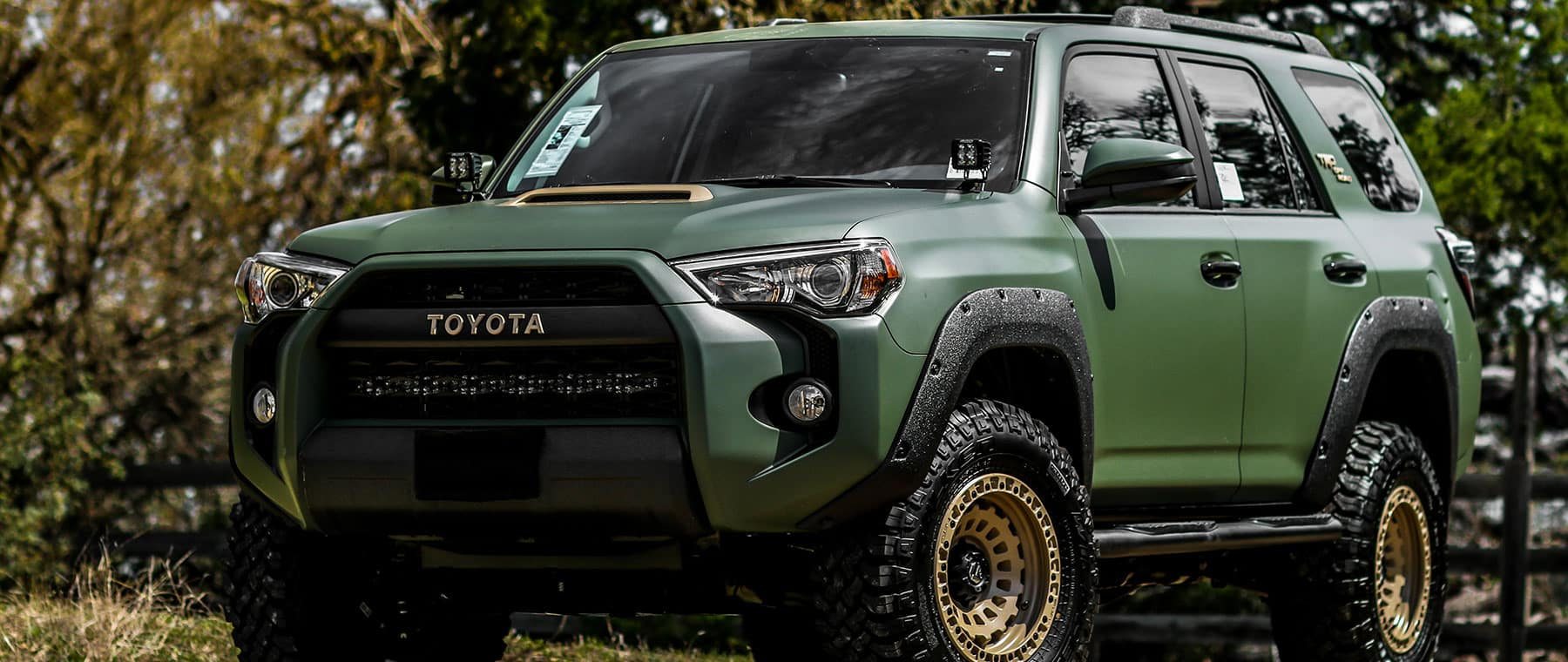 Custom Toyota 4Runner >> Let Us Build Your Custom Toyota Truck At Toyota Of Boerne