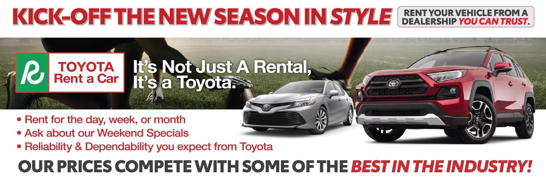 Toyota Rent A Car in Boerne, TX