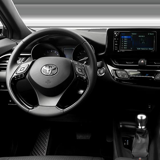 C-HR Interior Driver's Seat